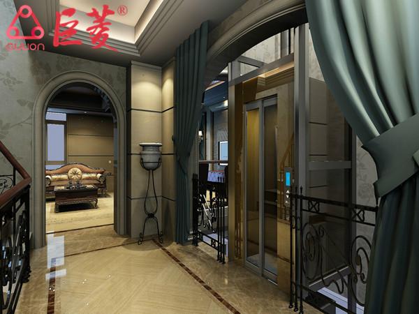 上海松江无机房别墅电梯特点和优势